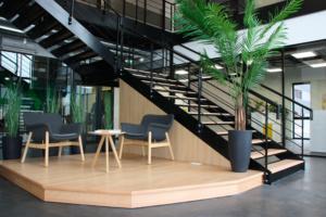 Espace d'accueil - Siège social société Azergo à Vourles - Lyon - Rhône-Alpes