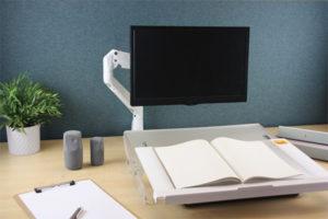 Modulo - Repose-documents - Position ergonomique - Détente dans les épaules et la nuque