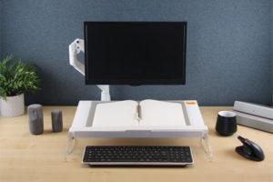 Travailler sans tension dans les épaules et cervicales - Support ergonomique marque ErgoExpert
