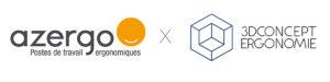 Logo-Azergo x 3D Concept Ergonomie