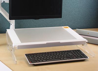 Support de documents Modulo ErgoExpert - Travail sur ordinateur - Limite douleurs nuque épaules bras