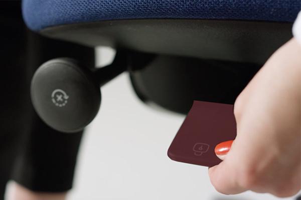 Blocage - Déblocage de la bascule - réglage - siège ergonomique New Logic