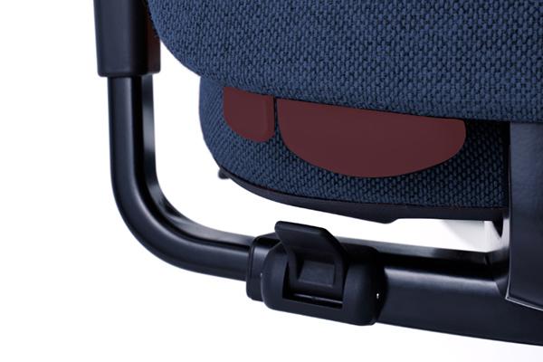 Réglage - Siège ergonomique New Logic - Galbe dossier - soutien lombaire