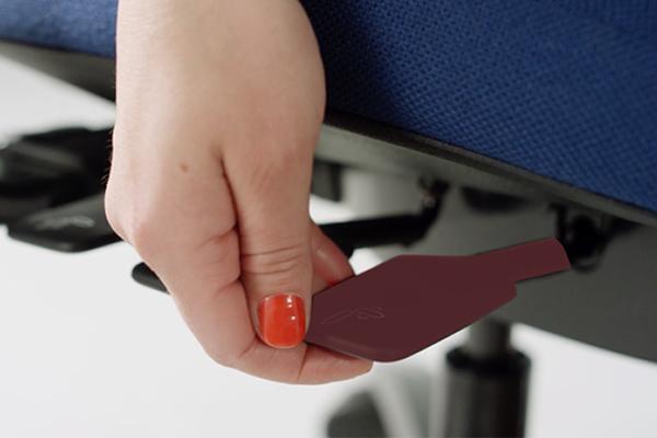 Réglage - siège ergonomique - New Logic - hauteur de l'assise