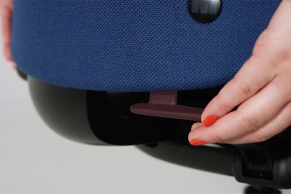 Réglage hauteur dossier - Siège ergonomique - New Logic