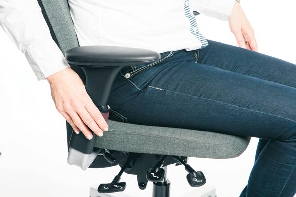 Réglage siège ergonomique - Activ 220 - accoudoires