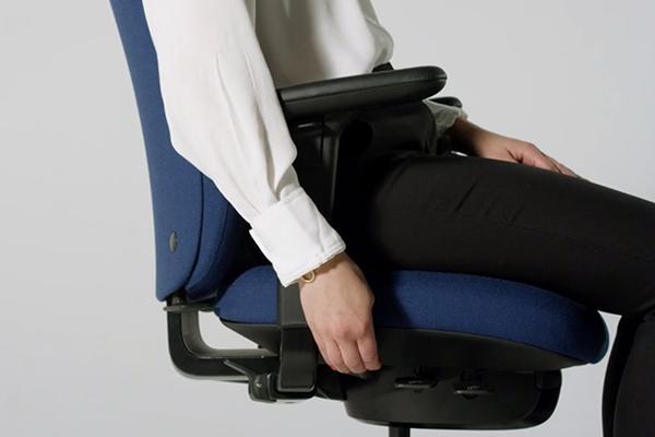Réglage dossier - siège ergonomique - inclinaison dossier - New Logic