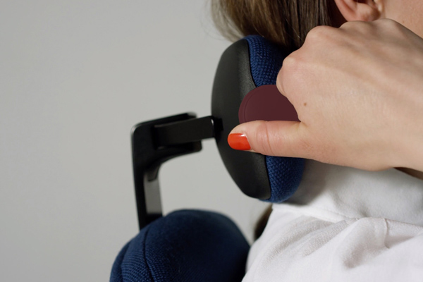 Réglage siège ergonomique New Logic - Soutien omoplates - Douleurs lombaires - soutien cervicales