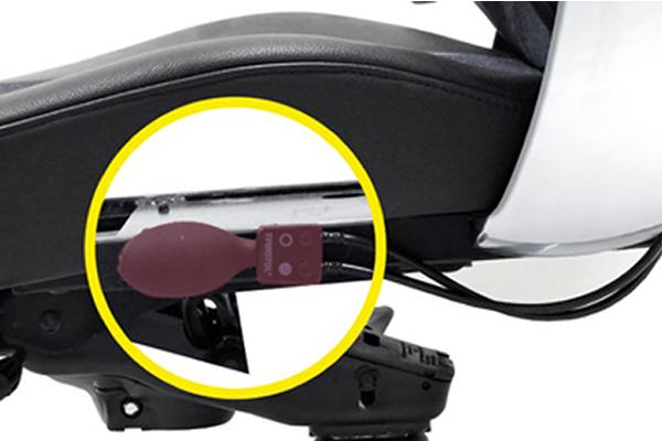 Régler galbe dossier - siège ergonomie - Sohl 24 - douleurs dos - douleurs cervicales