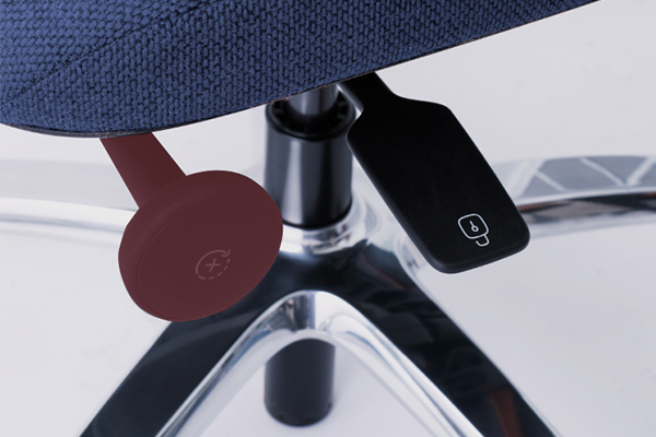 Réglage de la bascule - New Logic - siège ergonomique - toutes les morphologies - douleurs lombaires -confortable