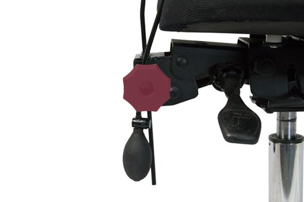 Réglage siège ergonomique 4400 - hauteur du dossier -polyuréthane - matière résistante