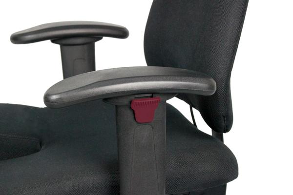 Réglage - Profondeur et hauteur des accoudoirs - Siège ergonomique - 4400 - environnement exigeant - mal de dos - position debout