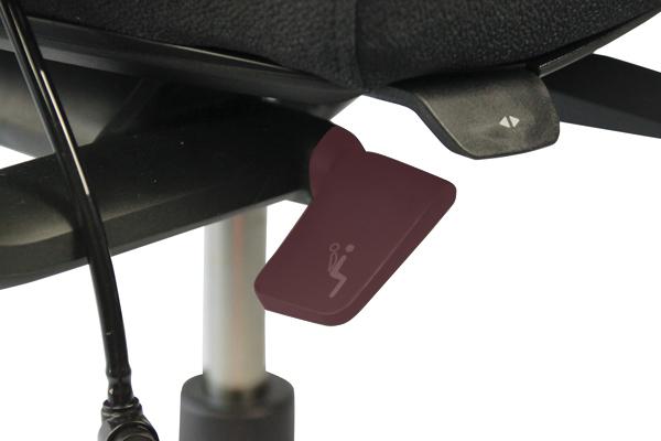 Réglage siège ergonomique - Axia 2.4 - Inclinaison du dossier