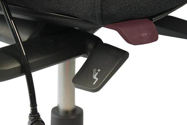 Réglage siège ergonomique - Axia 2.4 - Profondeur de l'assise