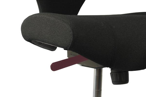 Réglage siège ergonomique - Capisco - Blocage de la bascule