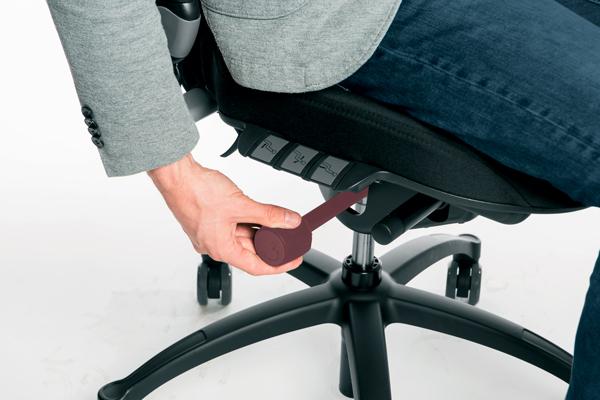 Réglage siège ergonomique - Logic 400 - Blocage de la bascule