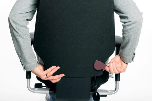 Réglage siège ergonomique - Logic 400 - Hauteur du dossier
