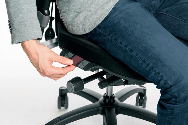 Réglage siège ergonomique - Logic 400 - Inclinaison du dossier