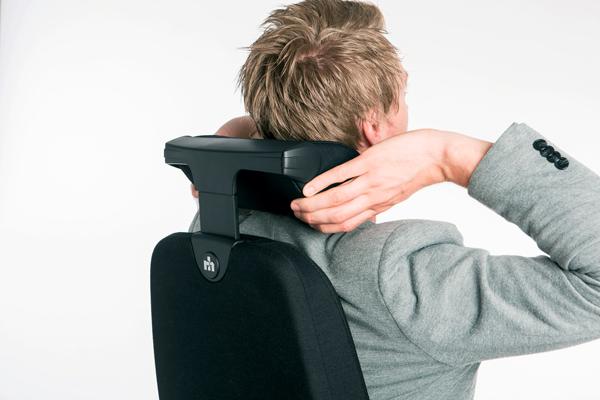 Réglage siège ergonomique - Logic 400 - Soutien cervical - Têtière