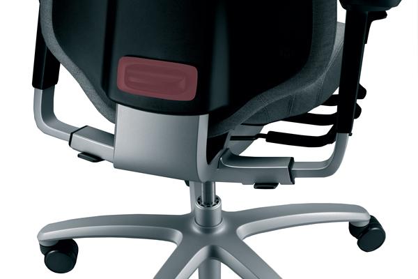 Mode d'emploi siège ergonomique - Mereo 220 - Hauteur du dossier