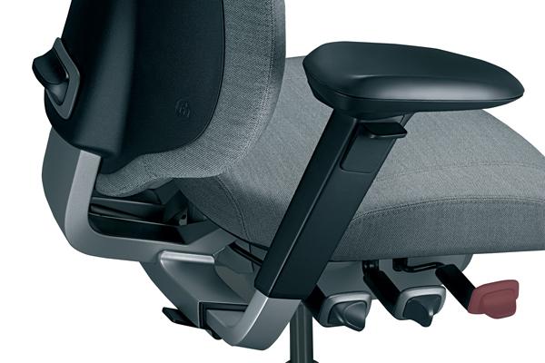 Réglage ergonomique - Mereo 220 - Hauteur de l'assise