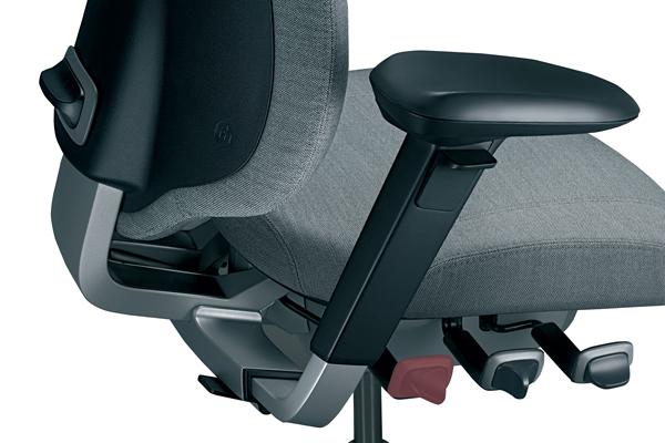 Réglage ergonomique - Siège Mereo 220 - Inclinaison du dossier