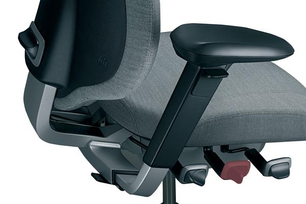 Mode d'emploi - Siège ergonomique - Mereo 220 - Profondeur de l'assise