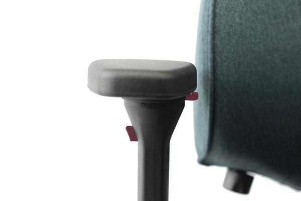 Réglage siège ergonomique - Mojo - hauteur et orientation des accoudoirs