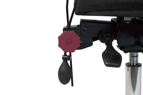 Réglage siège ergonomique - 5000 arthrodèse - Hauteur du dossier
