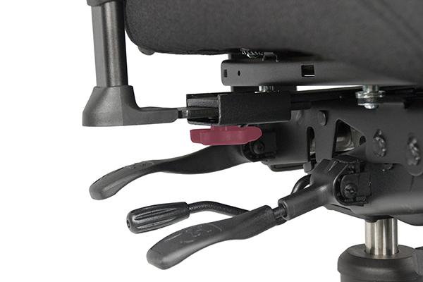 Réglage siège ergonomique - T4000 - Ecartement des accoudoirs