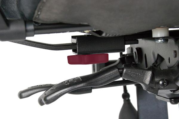 Réglage des accoudoirs - Mini 2300 - Ecartement des accoudoirs