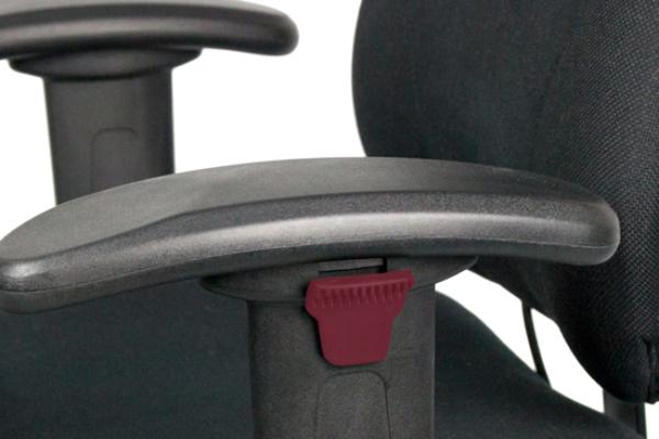 Réglage siège ergonomique - Mini 2300 - Hauteur des accoudoirs