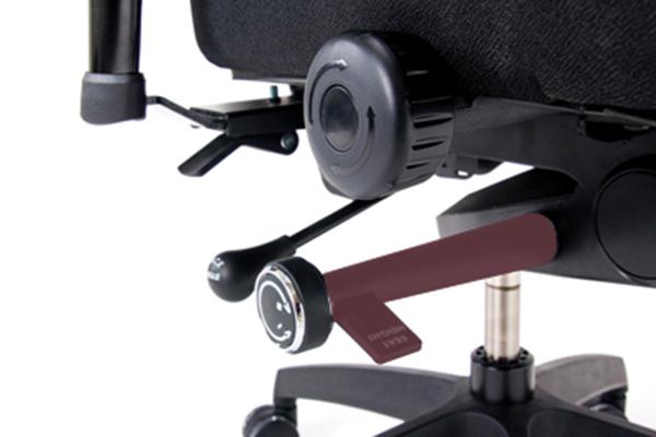 Réglage siège ergonomique - Pisitiv Plus - Hauteur de l'assise