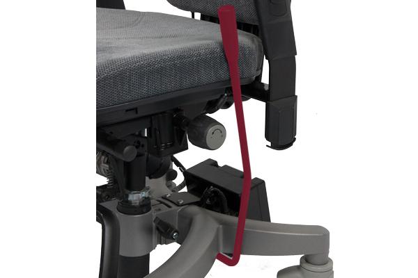 Réglage siège ergonomique - Tilto - Base freinée