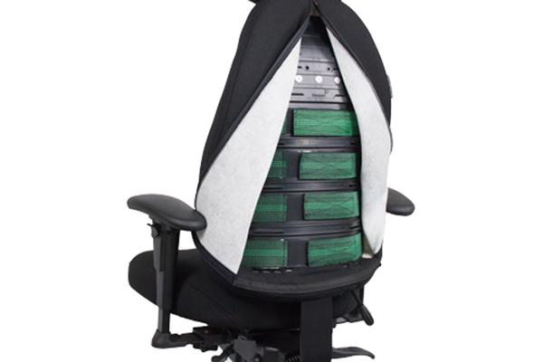 Réglage siège ergonomique - T6000- Galbe du dossier