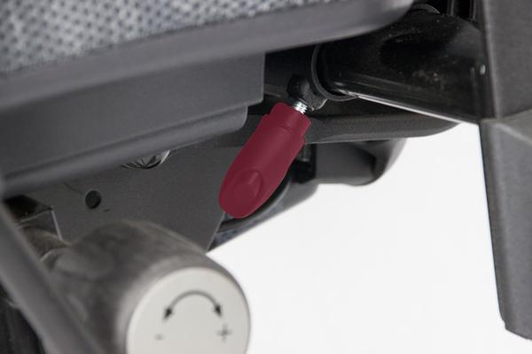 Réglage siège ergonomique - Tilto - Ecartement des accoudoirs