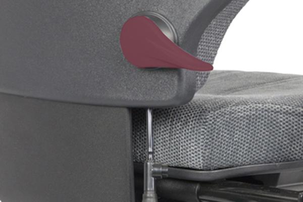 Réglage siège ergonomique - Tilto - Hauteur du dossier