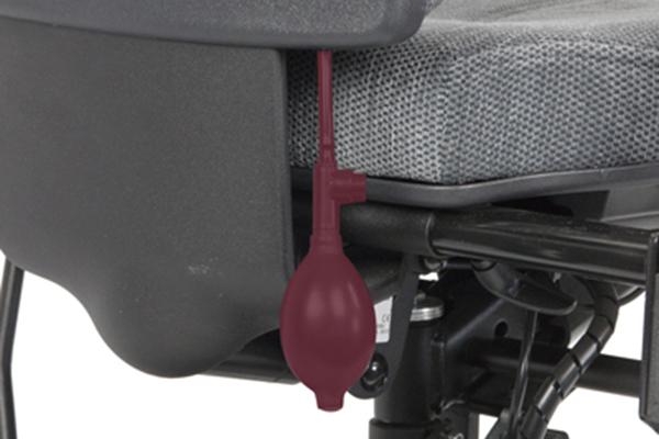Réglage siège ergonomique - Tilto - Handicap - Pompe lombaire - Soutien lombaire
