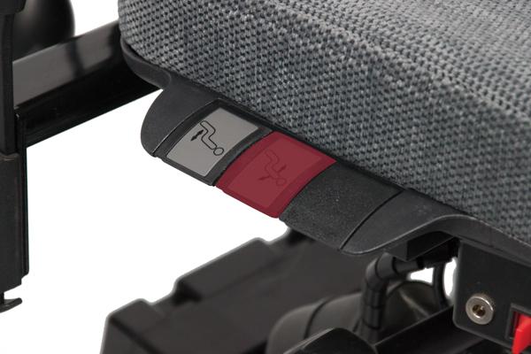 Réglage siège ergonomique - Handicap - Tilto - Inclinaison du dossier