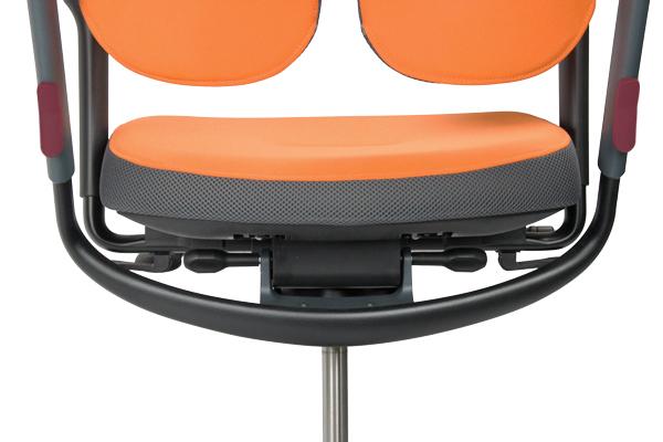 Réglage siège ergonomique - XDB/XBA - Hauteur du dossier