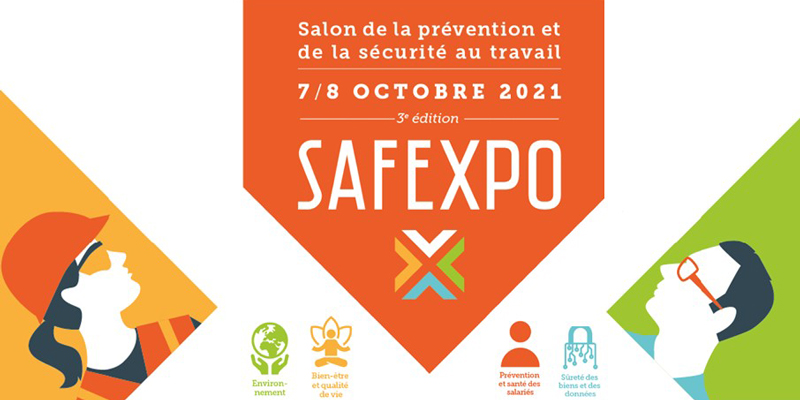 Rendez-vous à Safexpo le salon de la prévention et de la santé au travail